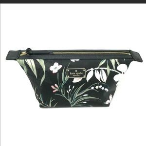 Kate Spade ♠️ Floral Botanical Jodi Cosmetic Bag